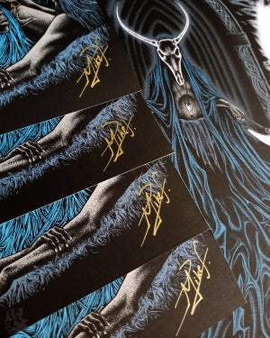 Image of CAVERNS II<br/> Reek Of The Parvenu Variant<br/> <small>Signed Poster</small>