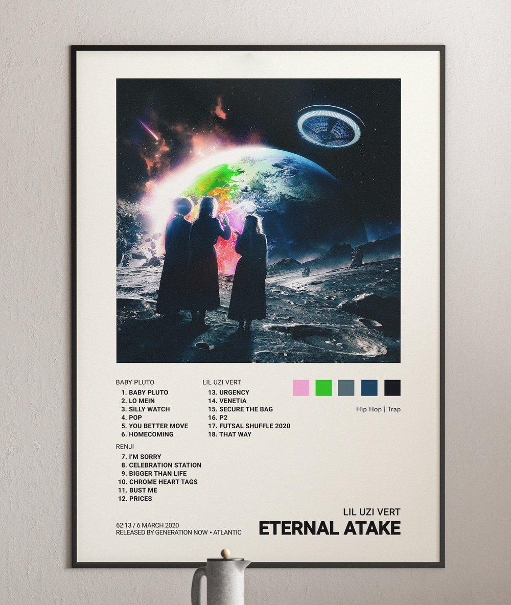 Lil Uzi Vert - Eternal Atake Album Cover Poster