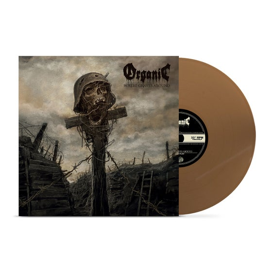 Image of Organic • Where Graves Abound (Gold Vinyl)