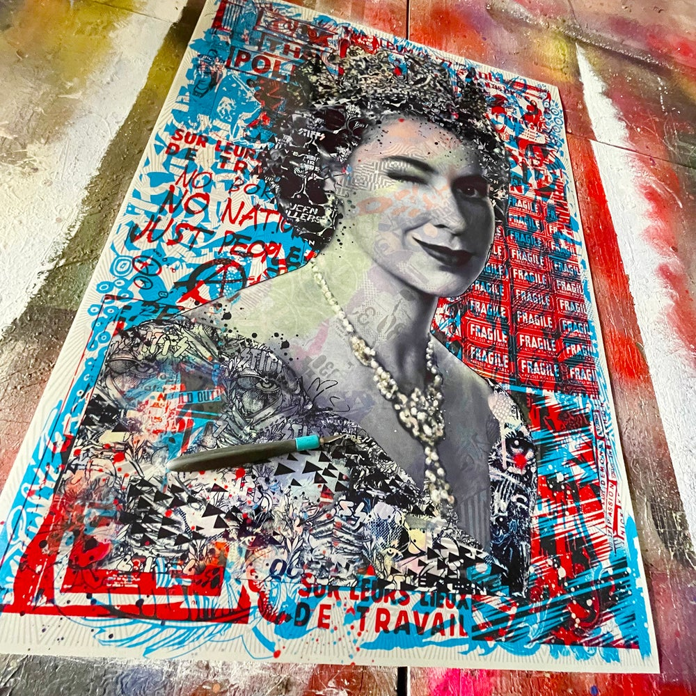 Image of Let it Reign GB (giclee)