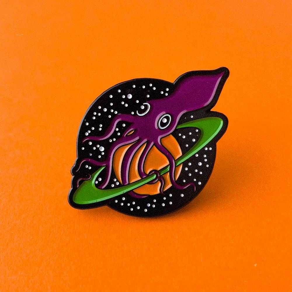 Image of Squid Logo Enamel Pin
