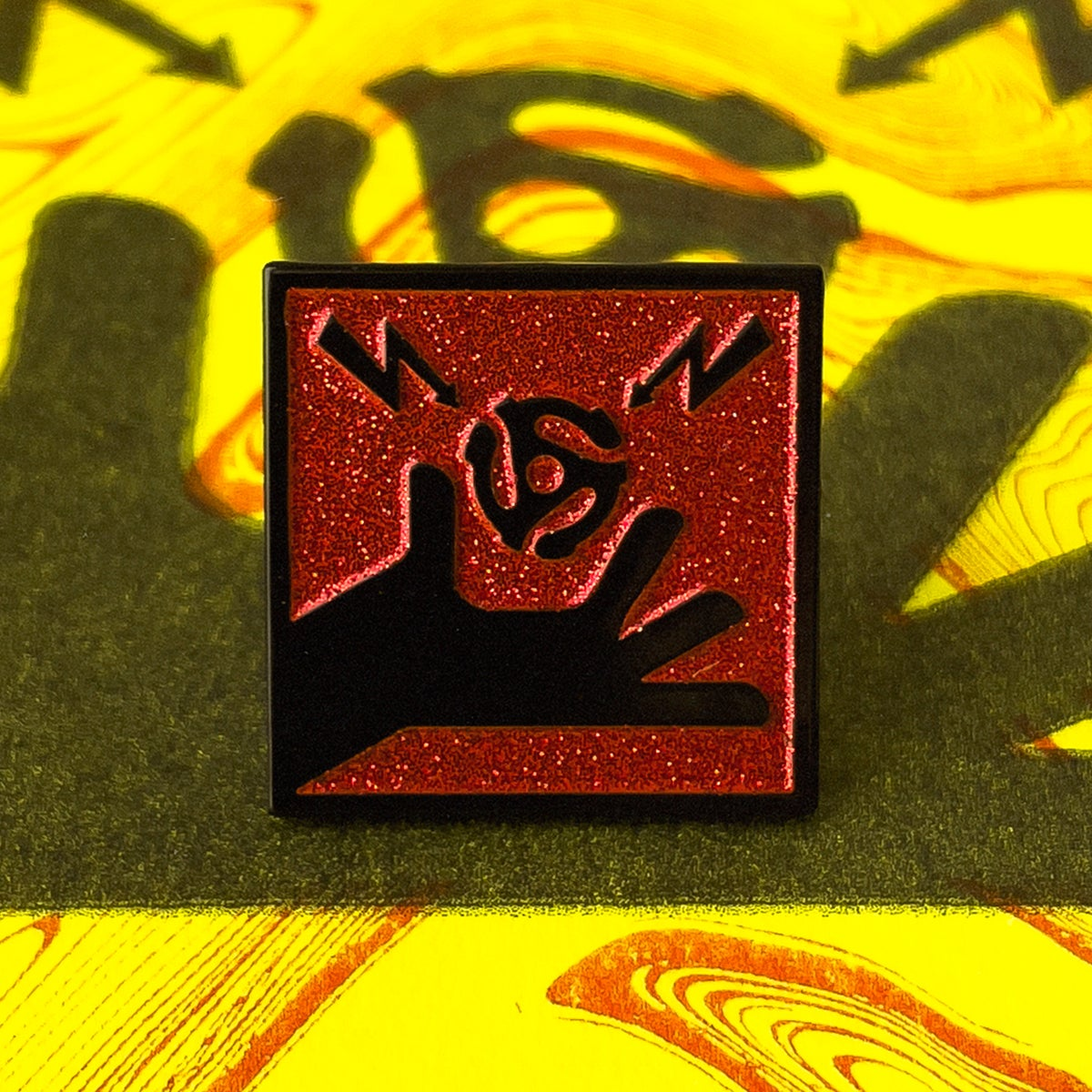 Image of Maximum Inconvience Enamel Pin