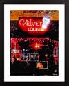 Velvet Lounge, Washington DC Giclée Art Print (Multi-size options)