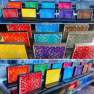 Image of Mini brick wall plaques