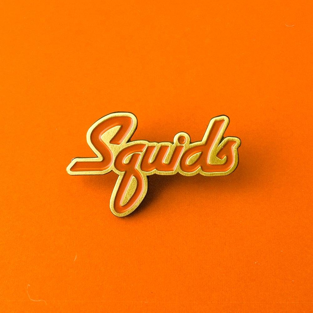 Image of Squids Enamel Pin