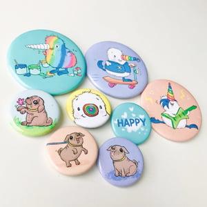 Kiwicorn Buttons