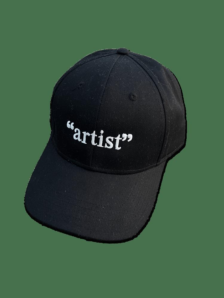 """Image of """"artist"""" - GLOW IN THE DARK CAP"""
