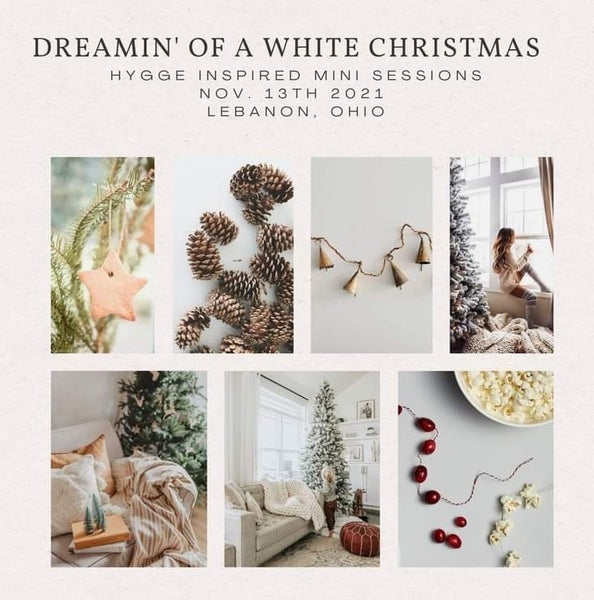 Image of Dreamin' of a White Christmas- Hygge Inspired Snow Mini Sessions