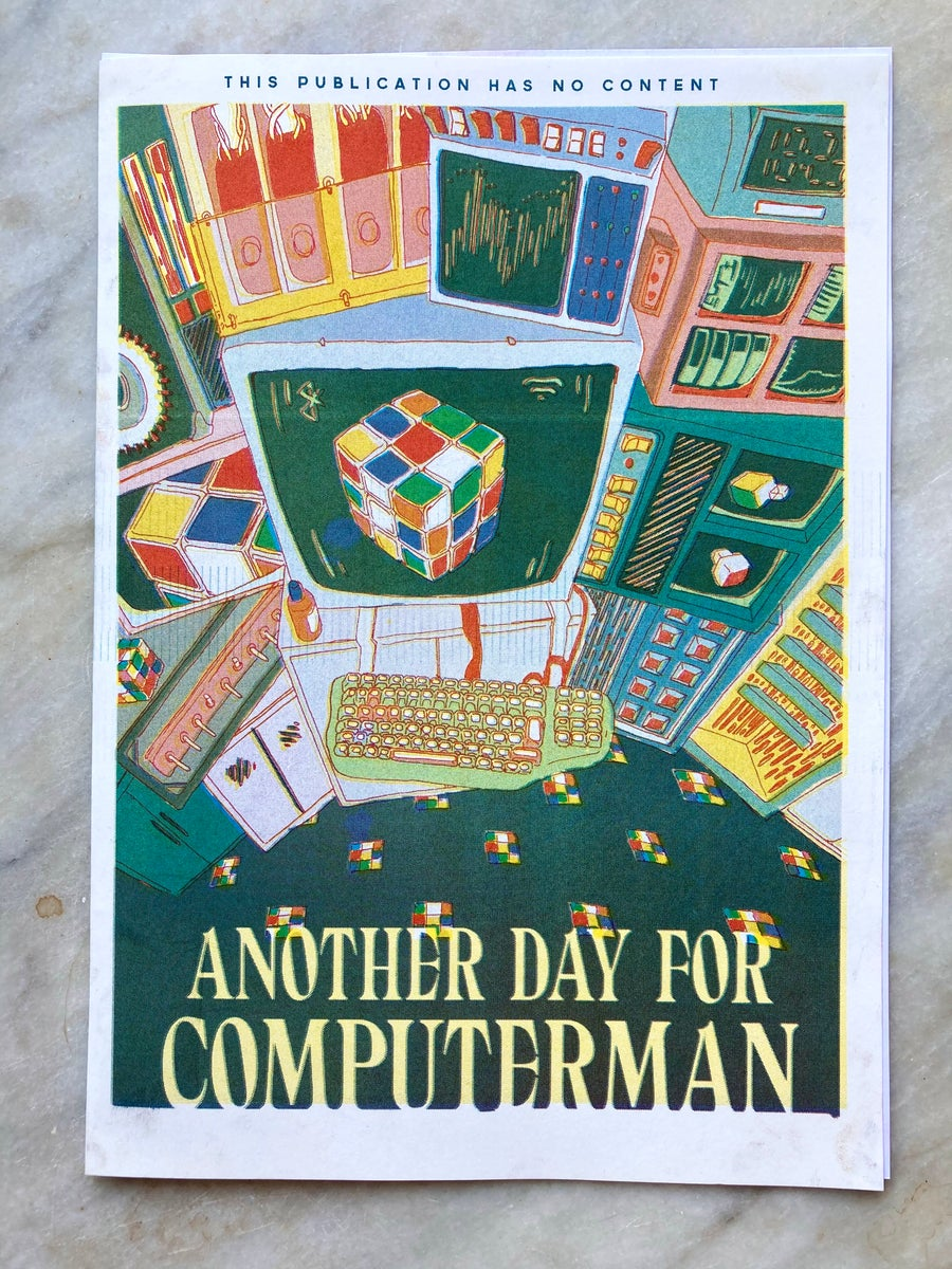 Image of Another day for computer man