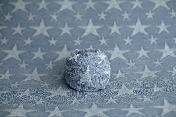 Image of Star Backdrop - vintage denim