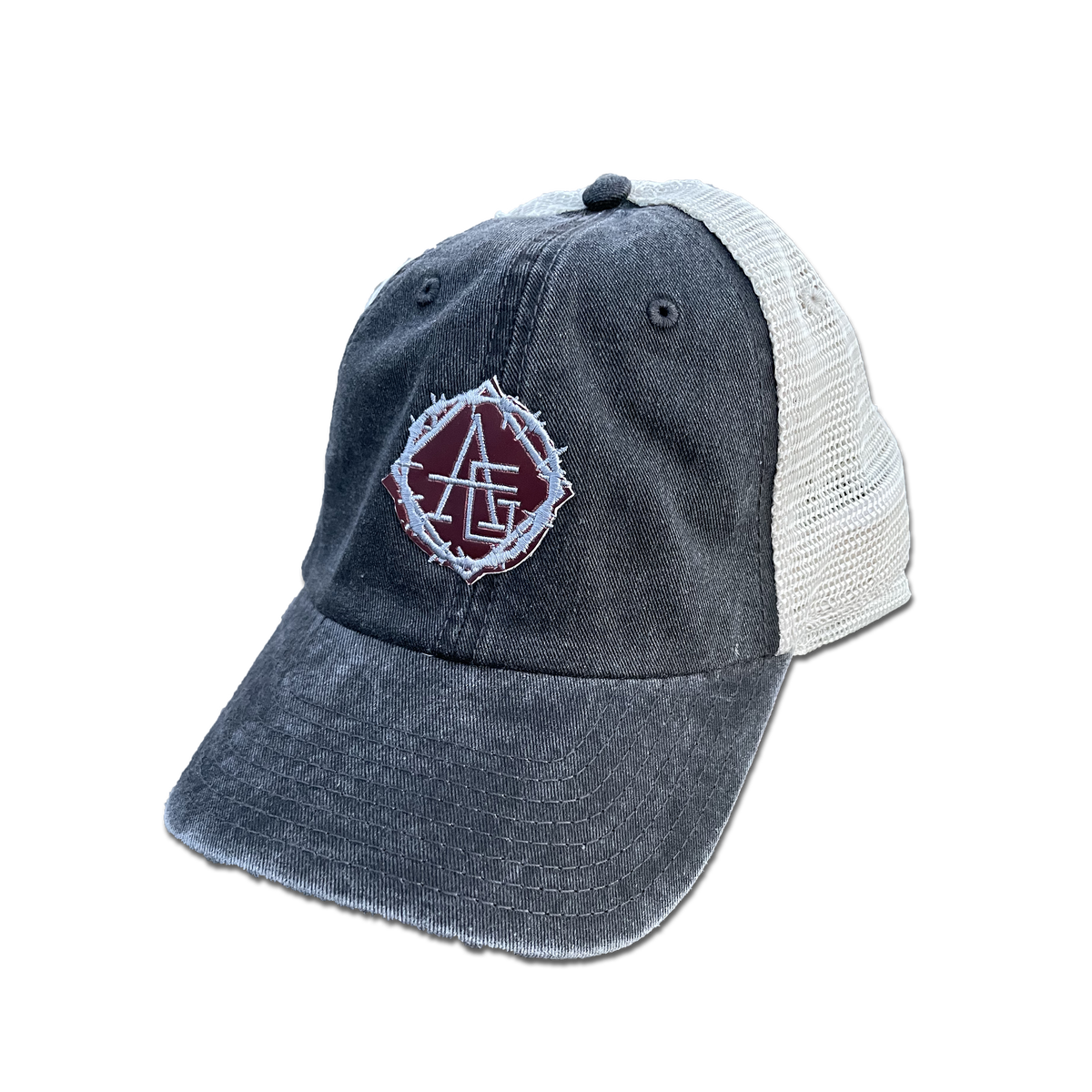 Image of Heat reactive logo trucker hat 🔥