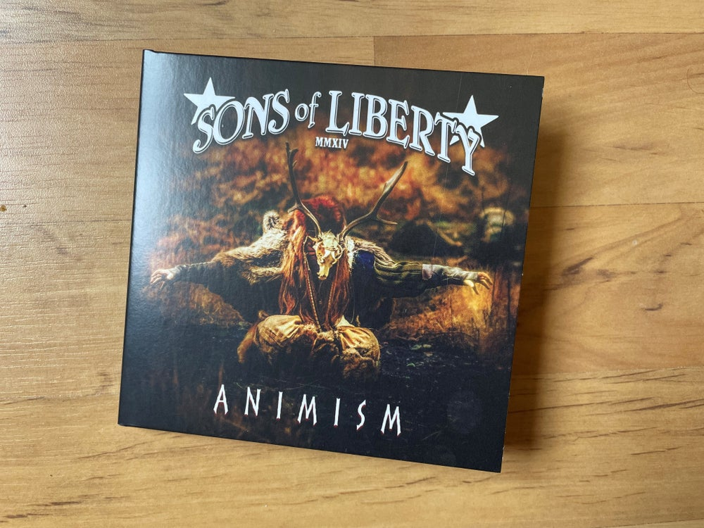 Image of CD Album: Animism - New Packaging
