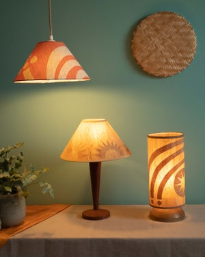 """Lampshade 12"""" - Sunset in Cork"""