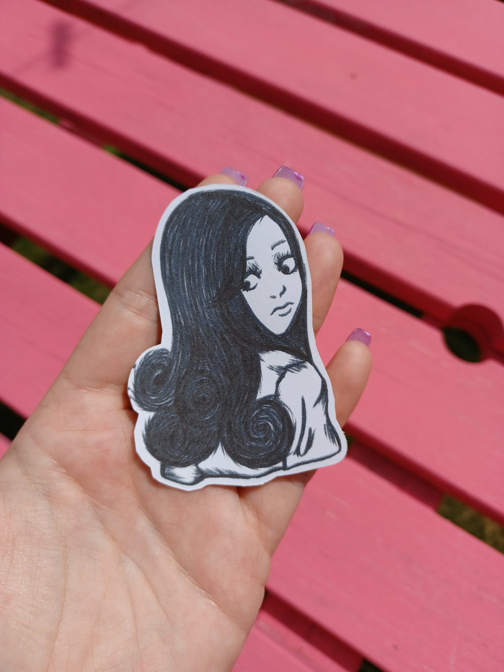 Image of Junji Ito Inspired Sticker Pack