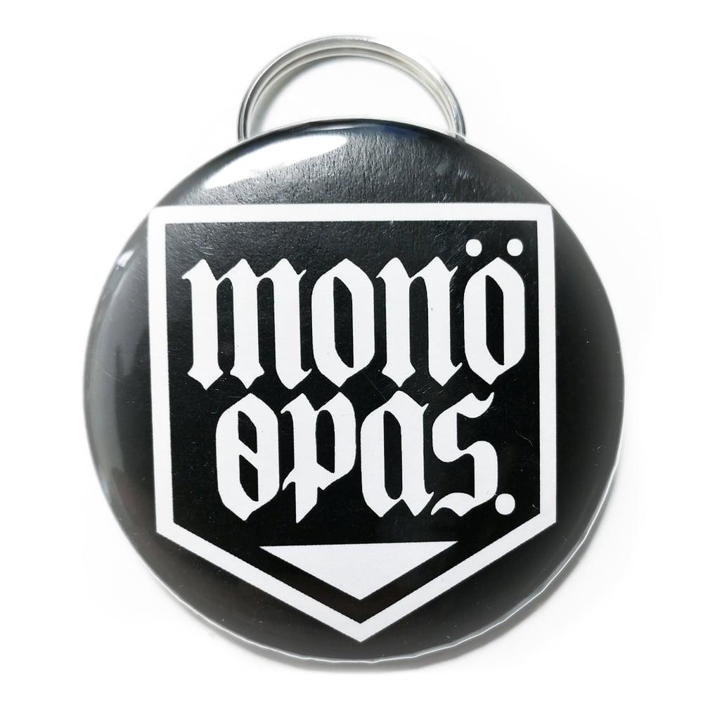 Image of Shield logo - Ανοιχτήρι μπρελόκ (Μαύρο)