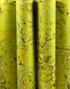 Marbled Paper Chartreuse Drawn Stone - 1/2 sheets