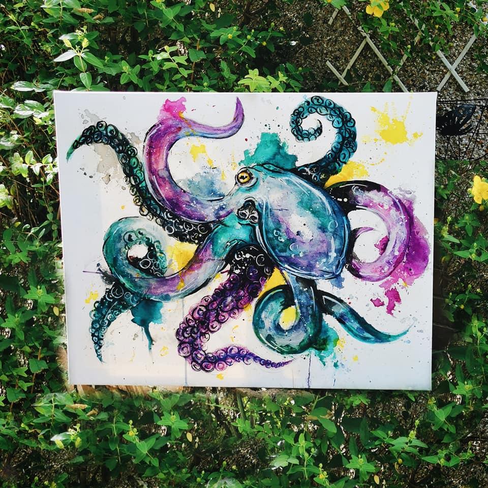 Octopus Original Canvas