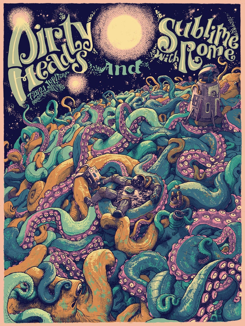 Image of Dirty Heads / Sublime With Rome - 7.25.21 Jupiter FL (Main Edition)