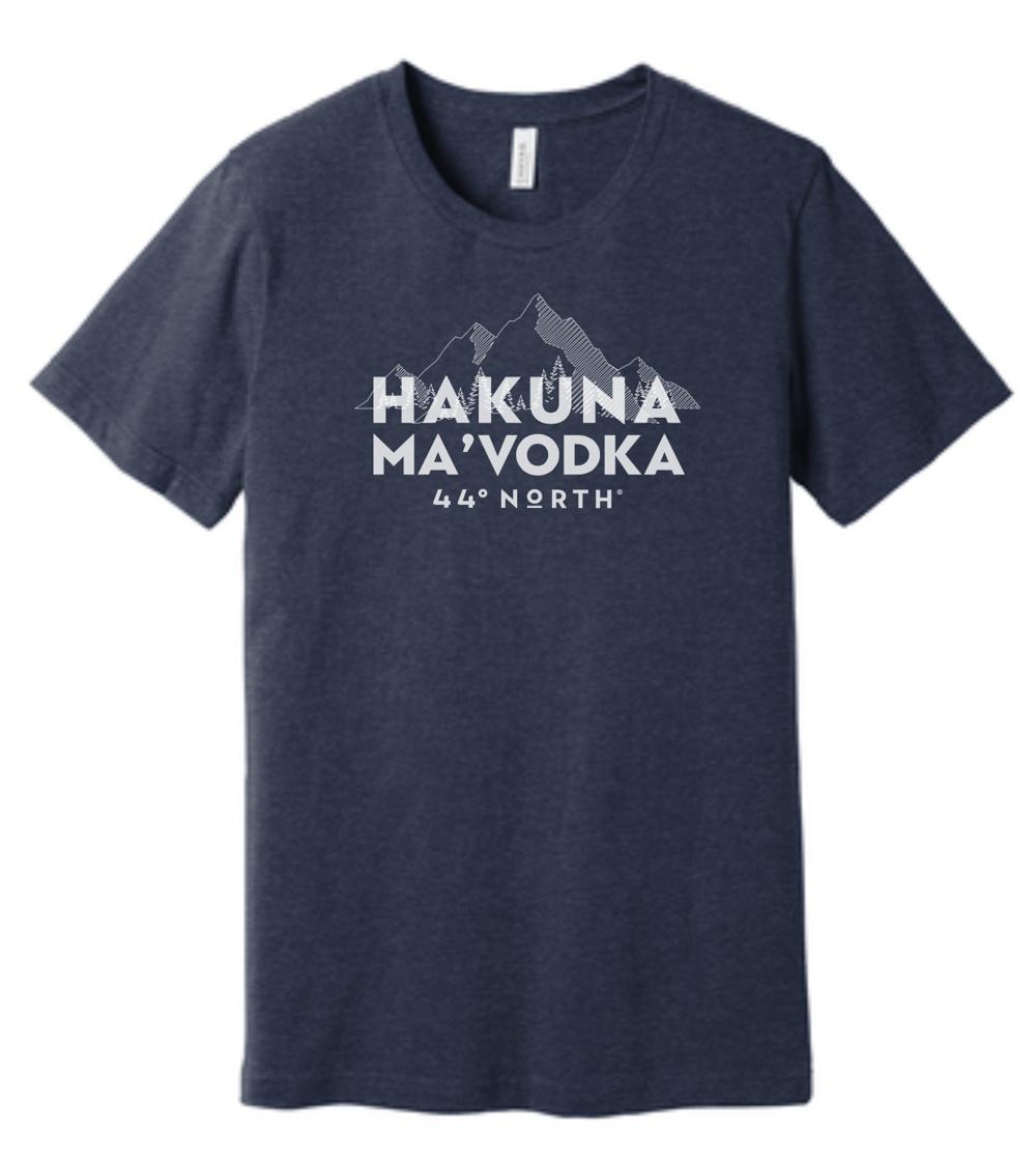 Hakuna Ma'Vodka Dark Grey Tee