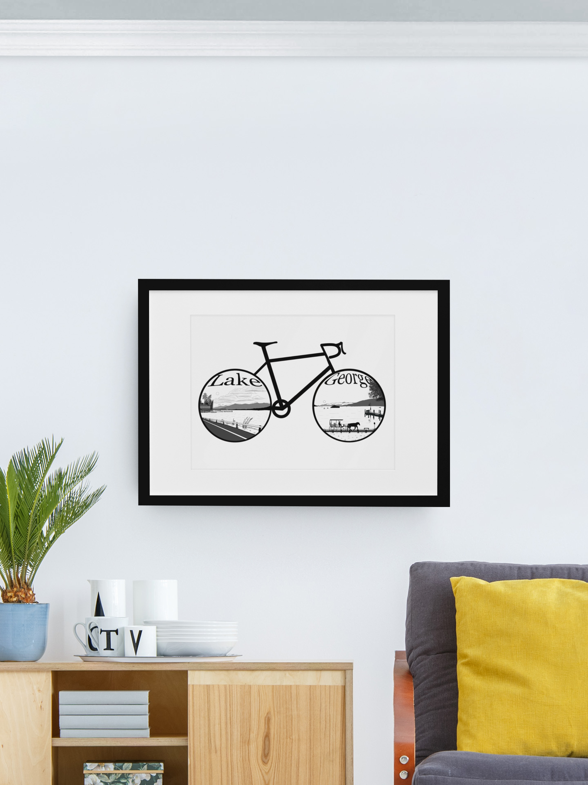 Image of Lake George Bike