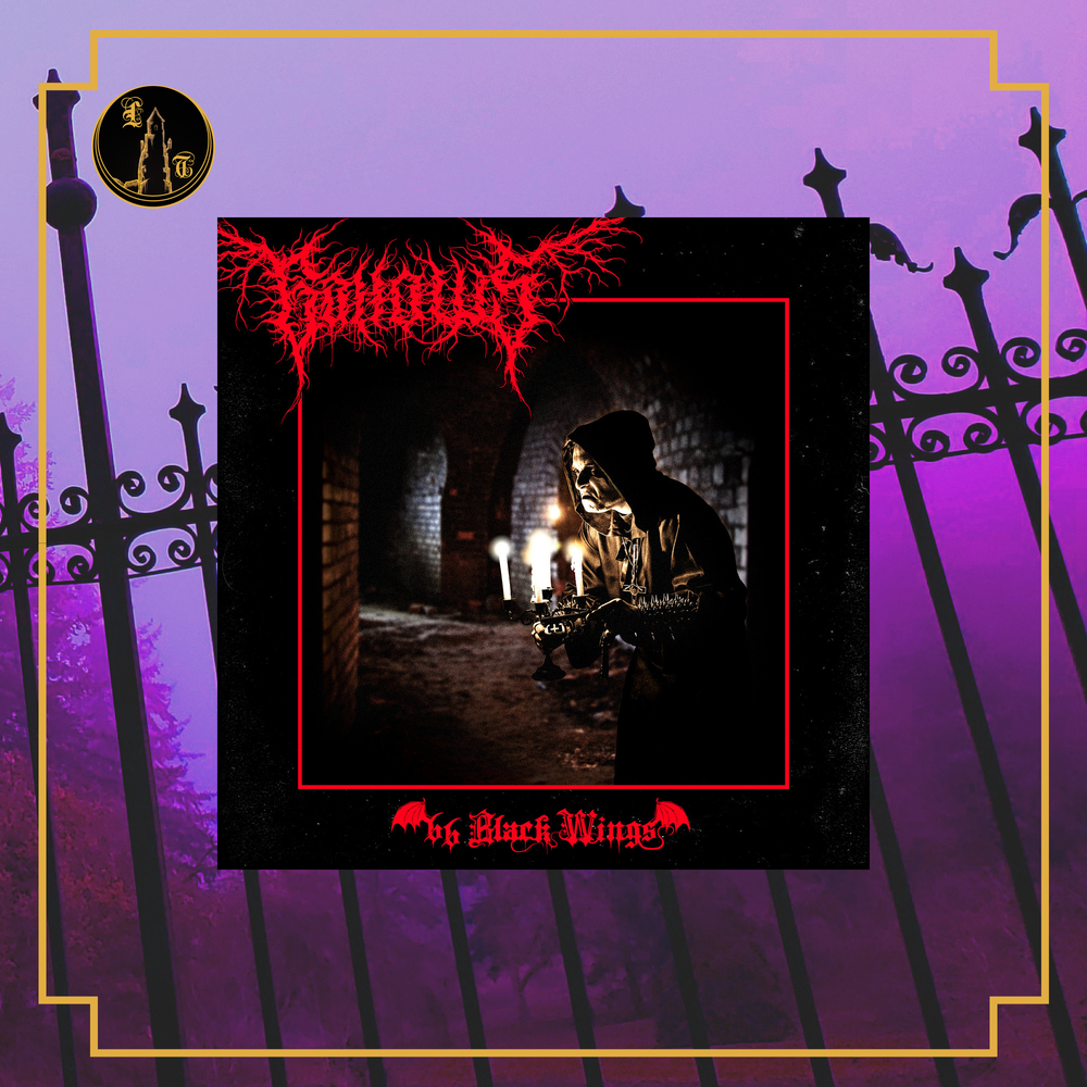 Image of Gallows - 66 Black wings LP