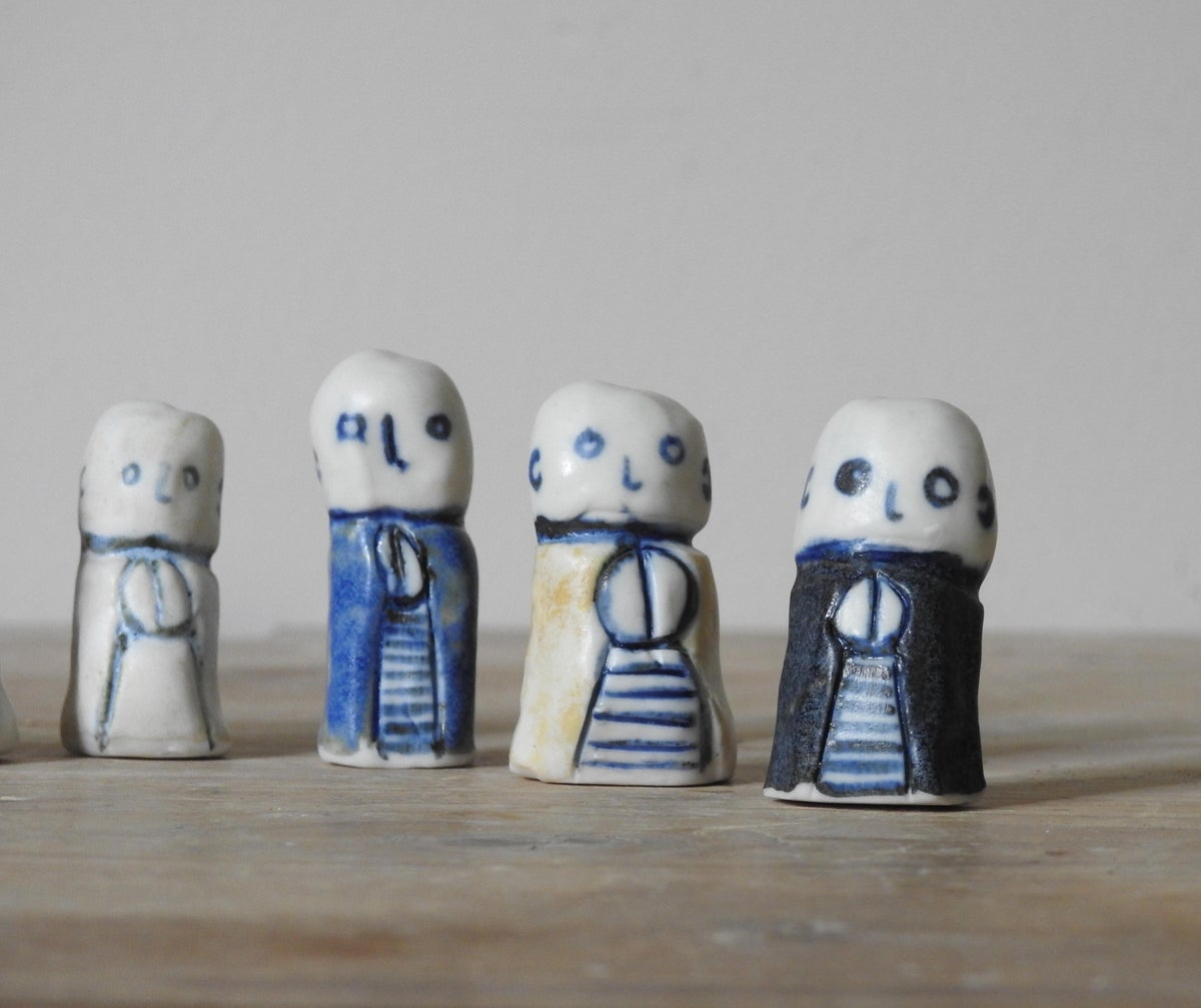 Image of 7 x tiny jizos - exclusive for vending machine owners