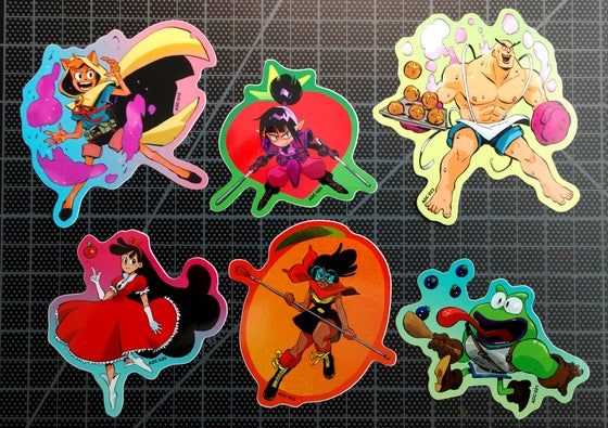 Image of Fruity Cutie Rescue Sticker Pack
