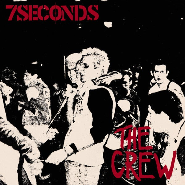 Image of 7 Seconds - The Crew LP (new reissue)
