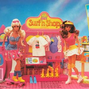 Image of Barbie Surf'n Shop neuf