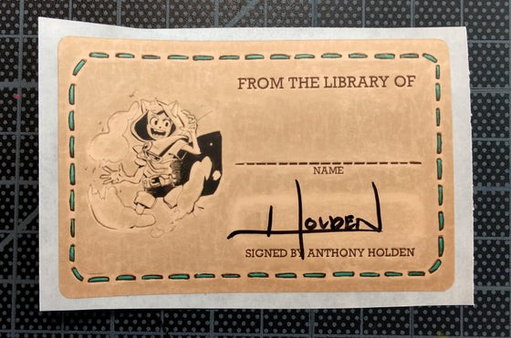 Image of Doodle Quest Signed Bookplate