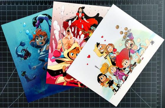 Image of Three Print Pack!!