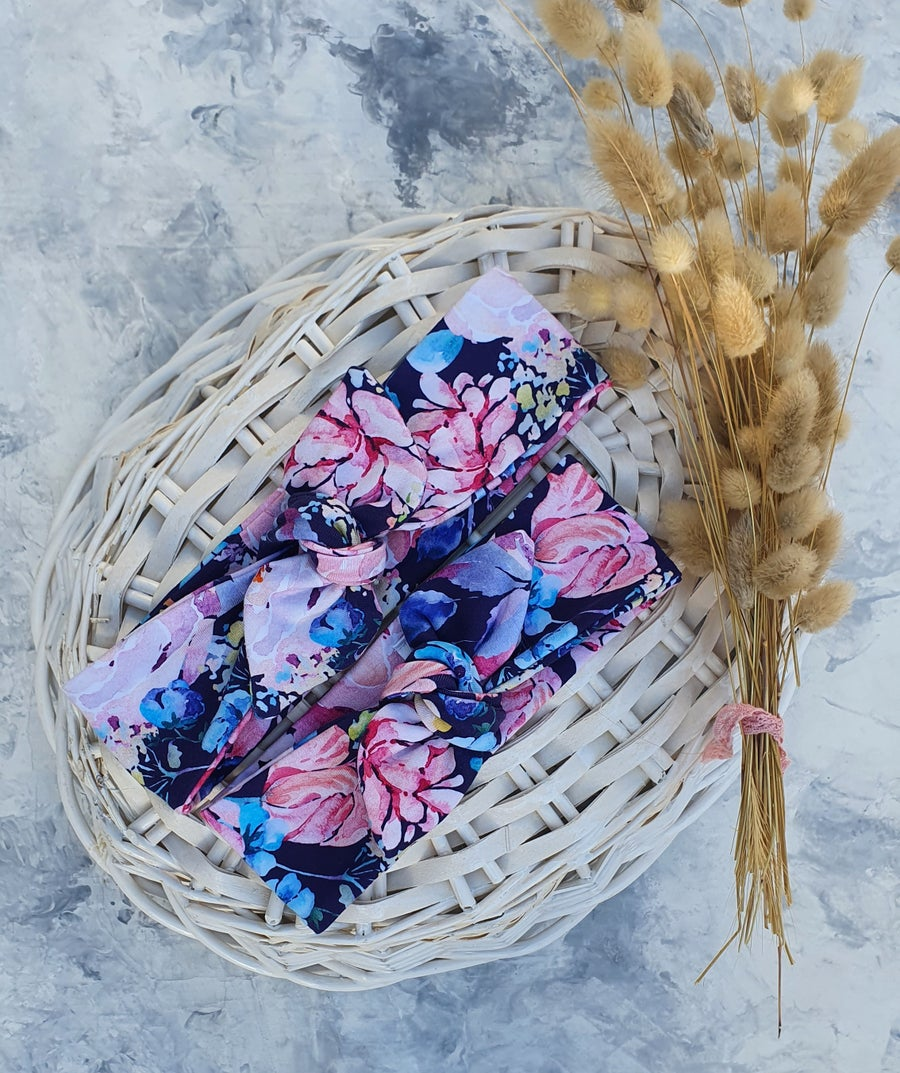 Image of Floral Stretch Headband