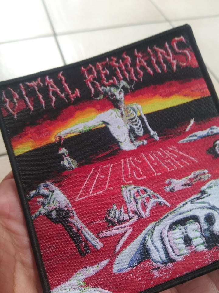Vital Remains Let us pray Woven Patch *imported*