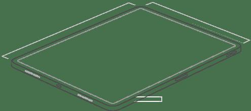 """iPad Pro 12.9"""" Vertical Dock"""