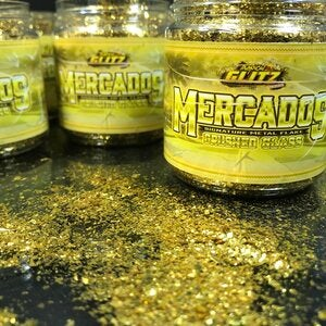 Image of MERCADO'S CRUSHED GLASS GOLD