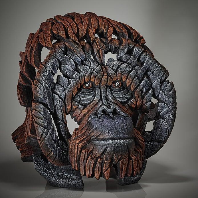 """Edge Sculpture """"Orangutan Bust"""""""