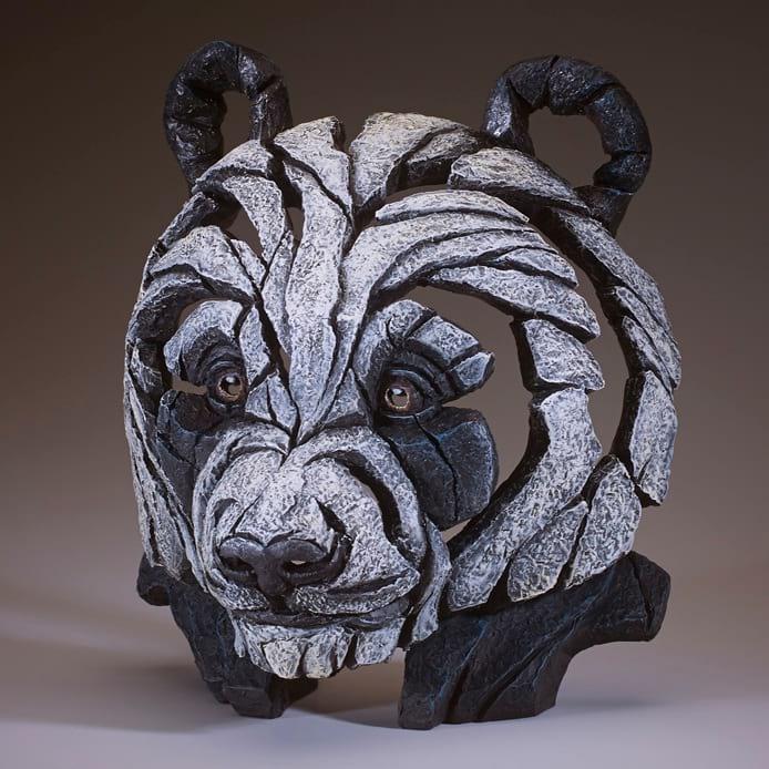 """Edge Sculpture """"Panda Bust"""""""