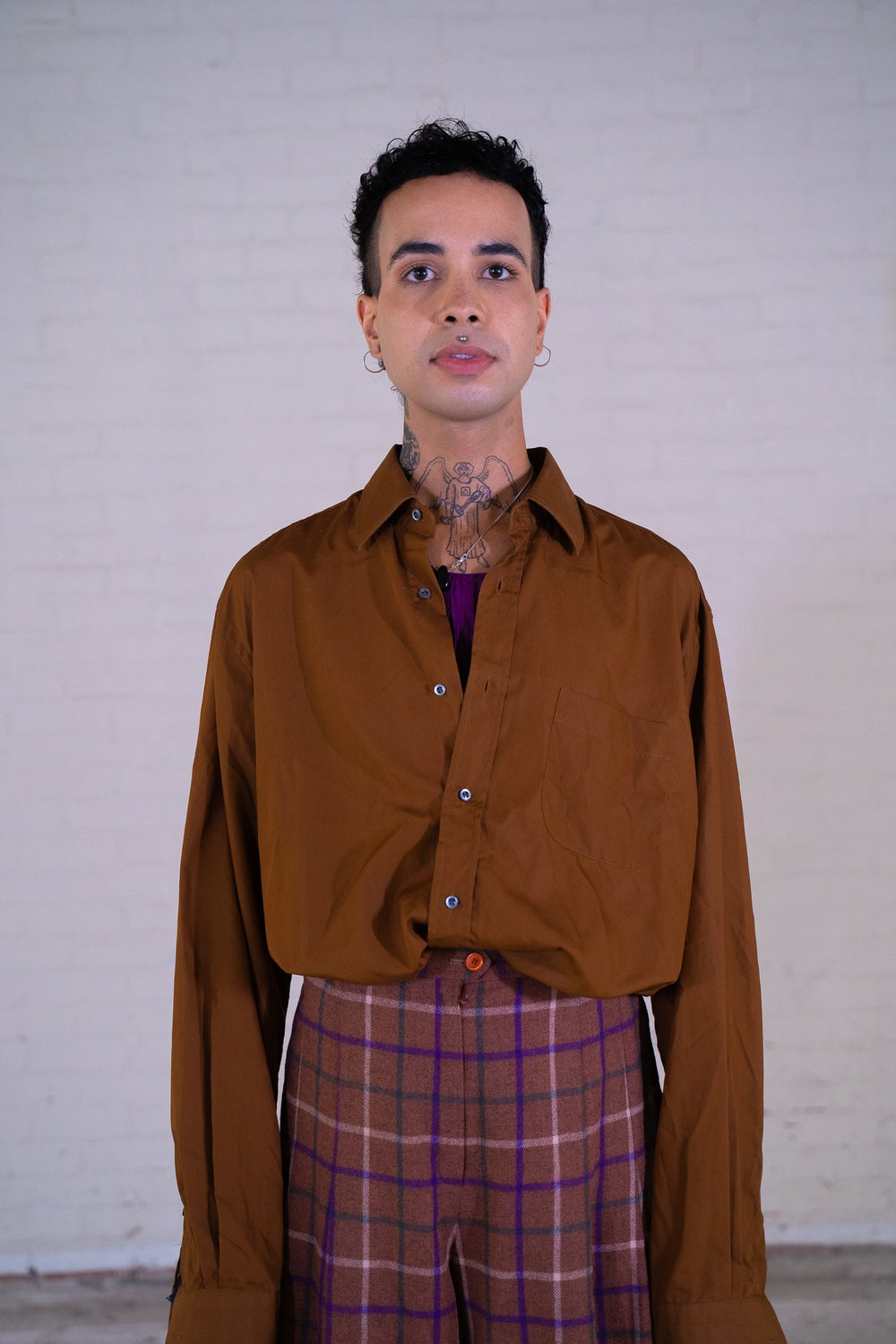 Image of 'Hugo Blouse' Button Down Blouse