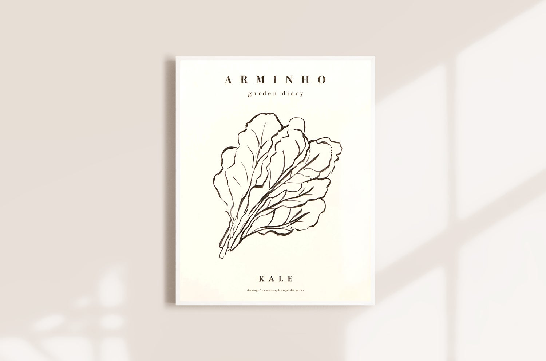 Image of Kale - Garden vegetables by Arminho