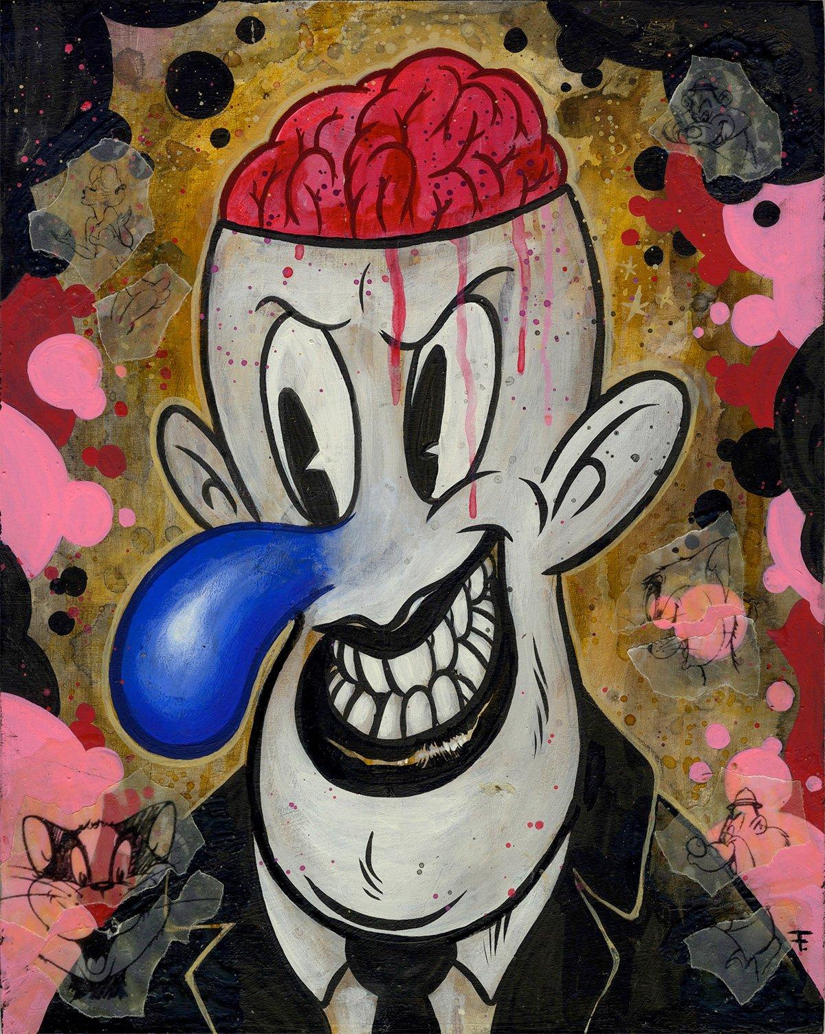 """Image of Frank Forte """"Mr. Brain Fink"""""""