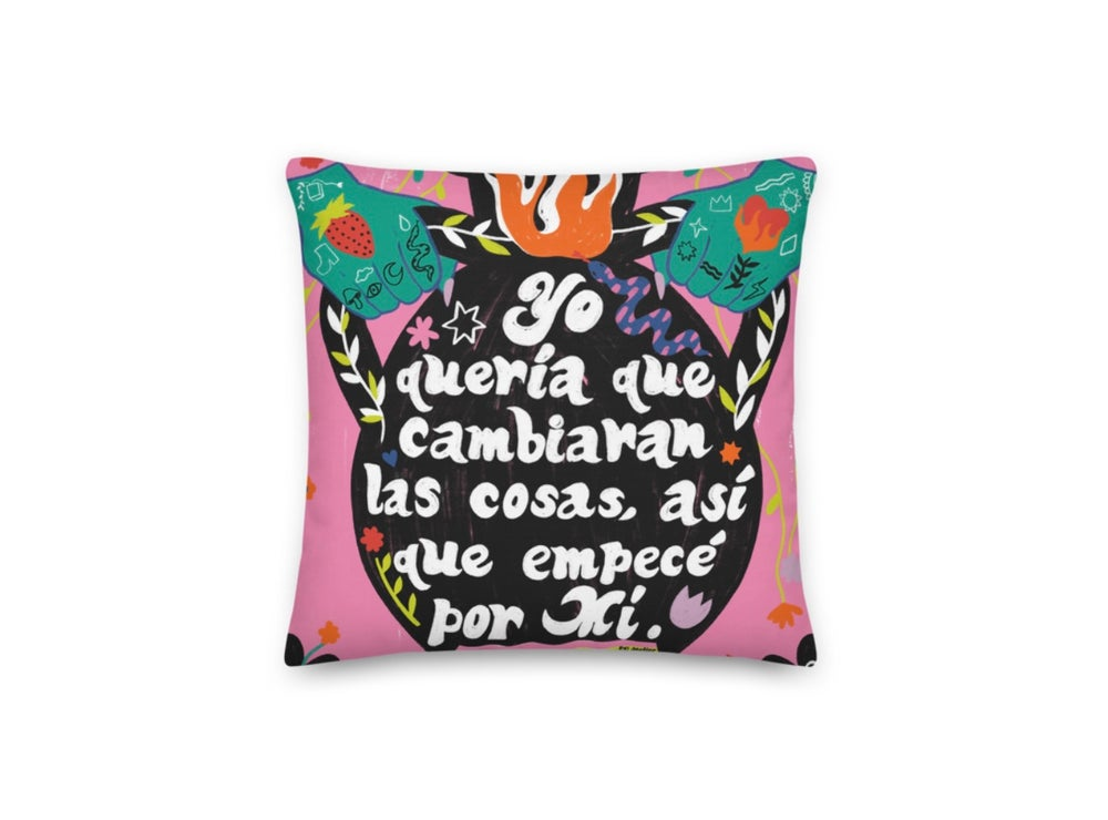 Image of Be The Change Pillow