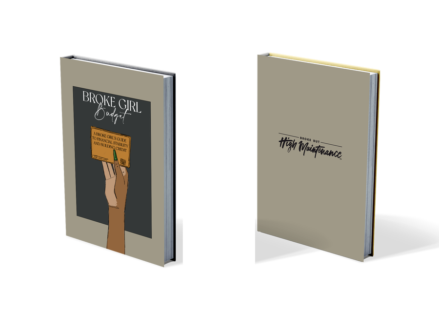 Image of PREORDER: broke girl budget journal