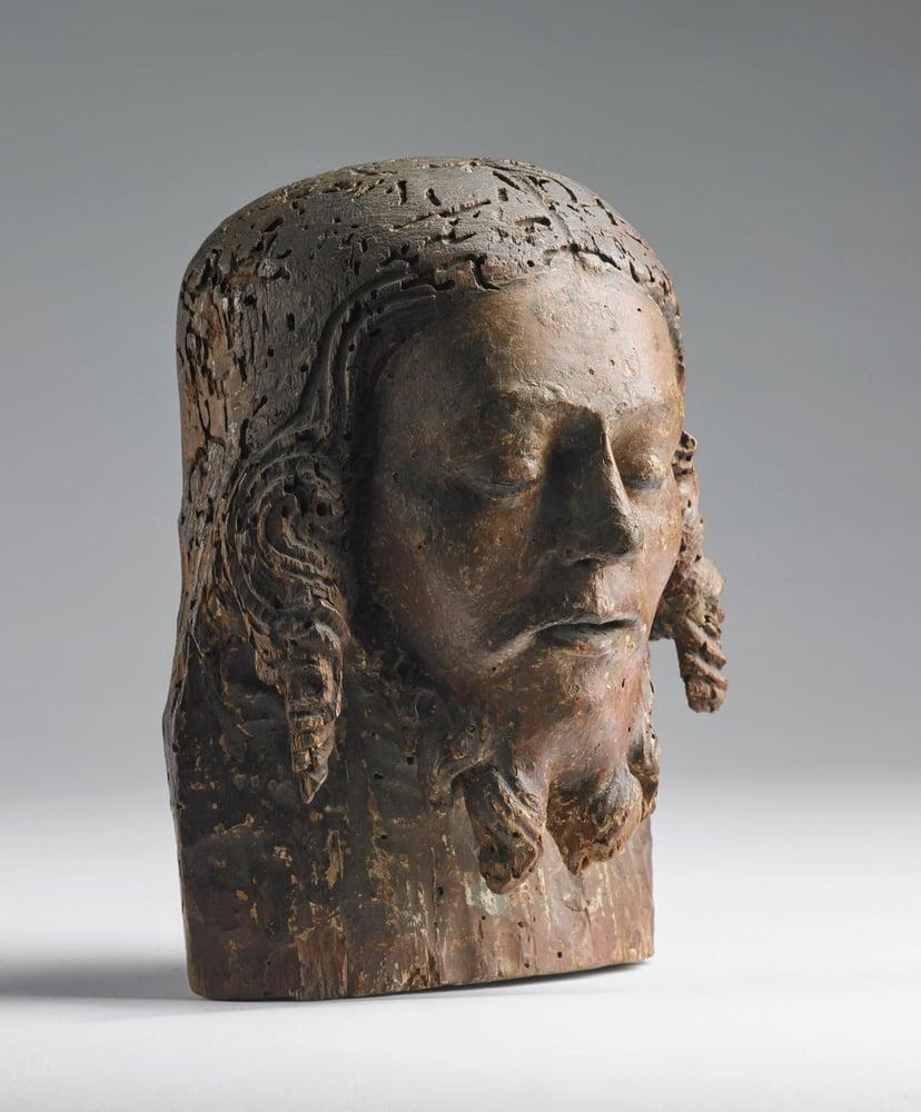 Image of 15th century Florentine head of Christ