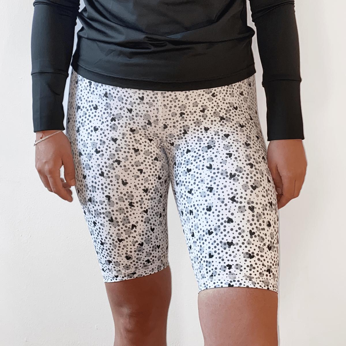 Sparkle Shorts - White