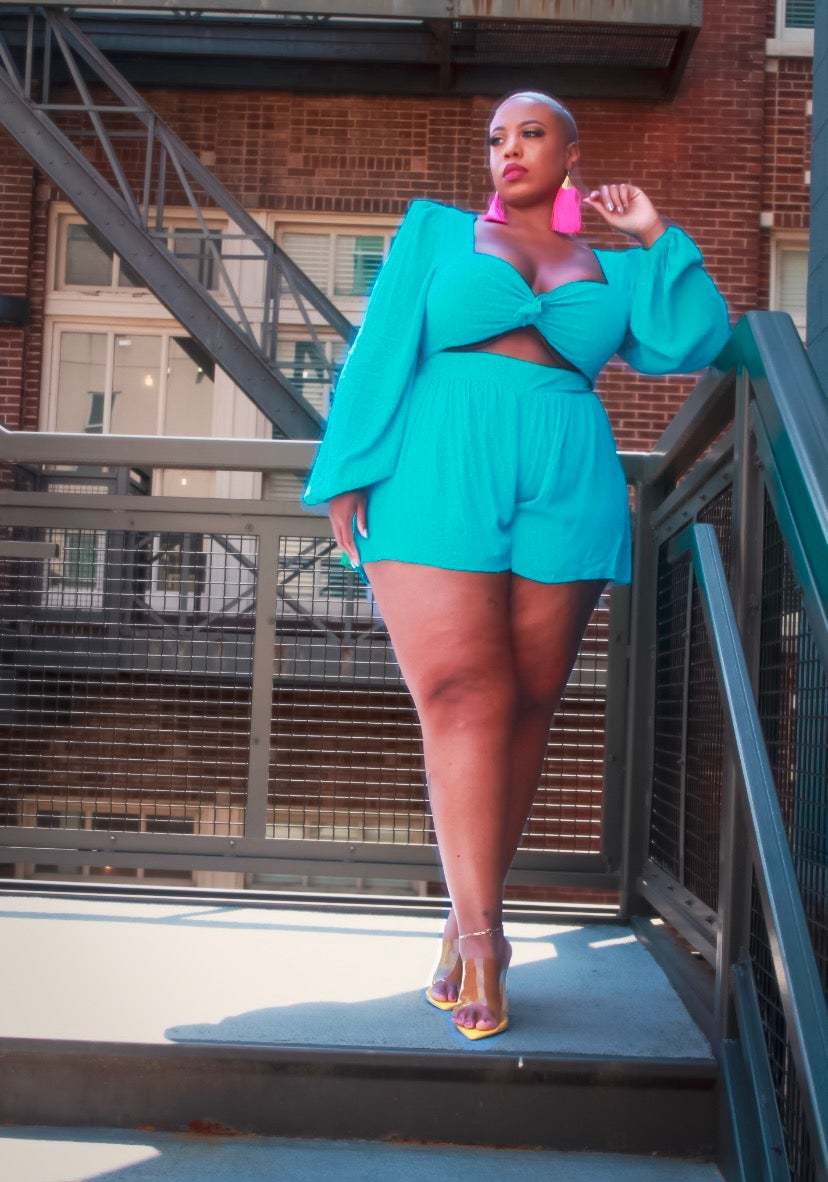 Image of Turquoise Dreams Romper