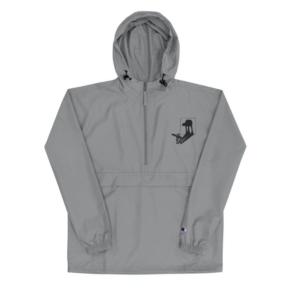 Image of AT-AT Shadow - Unisex Embroidered Champion Packable Jacket