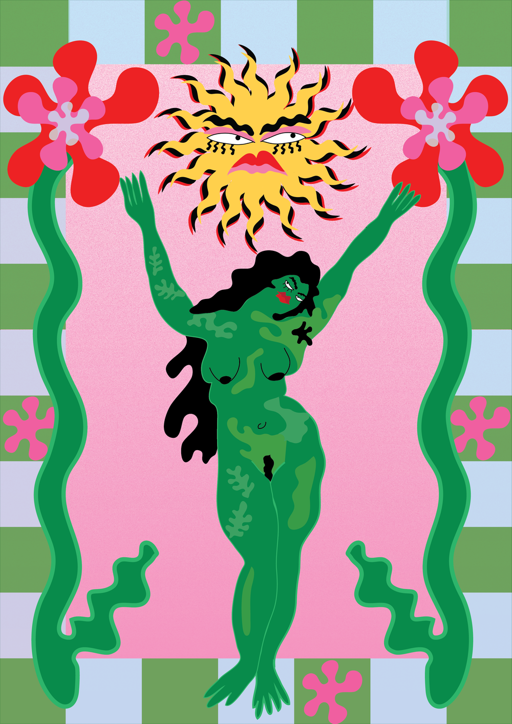 Image of Green Lady