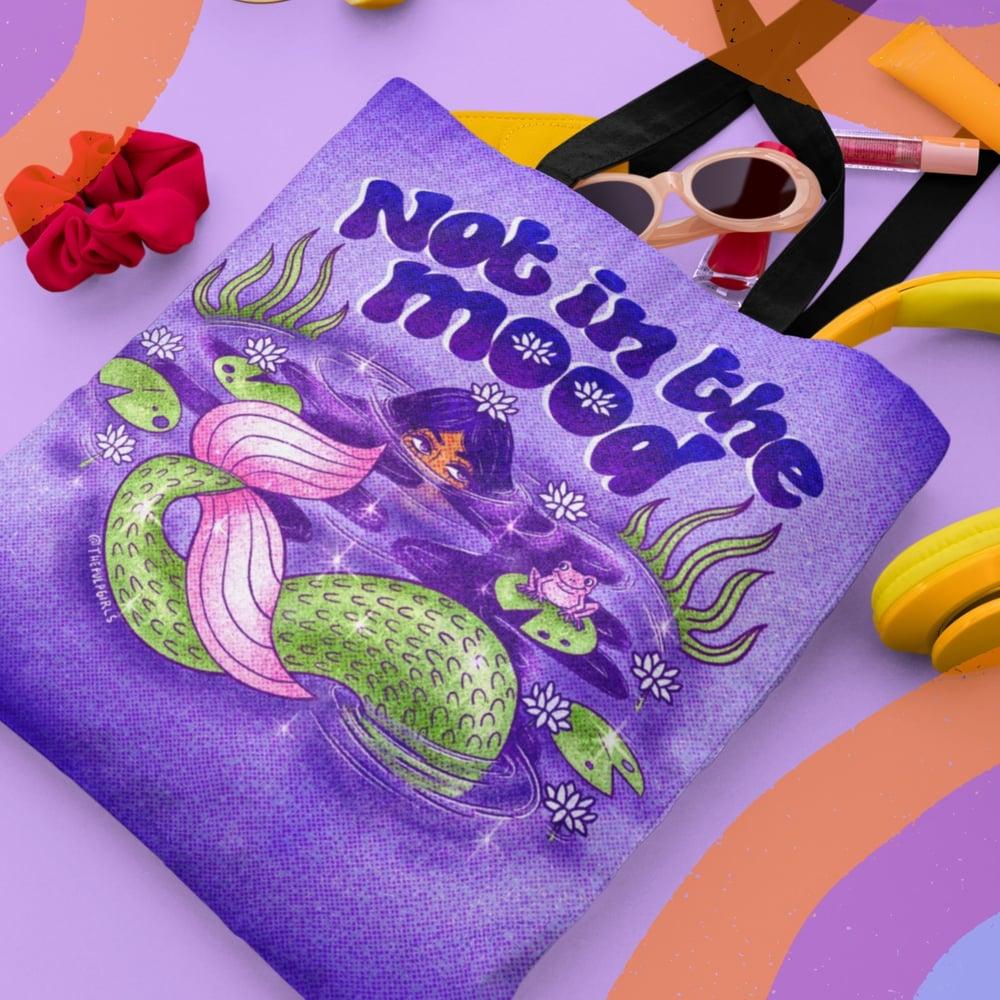 Image of MOODY MERMAID TOTE BAG