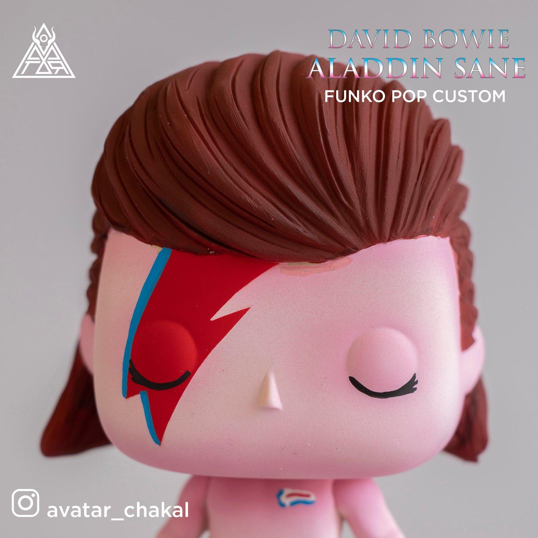 Image of David Bowie (funko pop custom)