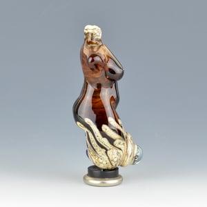 Image of XXL. Burnt Sugar Goddess - Flamework Glass Sculpture